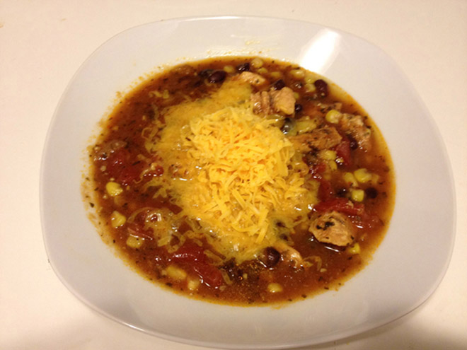 Ultra Yummy Chicken Tortilla Soup
