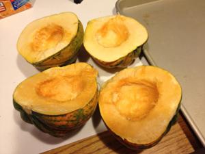 baked acorn squash 2