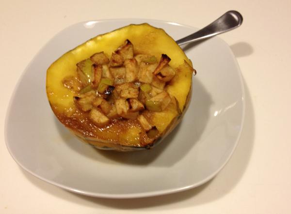 baked acorn squash 7