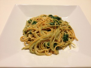 Vegetarian Recipes: Marscarpone Spinach Delight