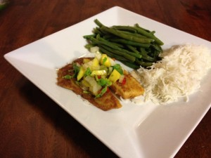 Cajun Tilapia with Mango Salsa Recipe
