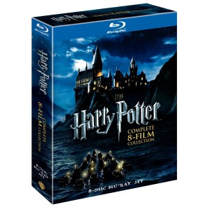 Harry Potter Complete Series on Bluray