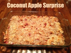 Coconut Apple Surprise Recipe