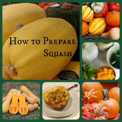 How to Prepare Squash