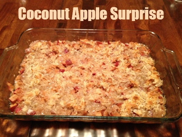 Coconut Apple Surprise Feature