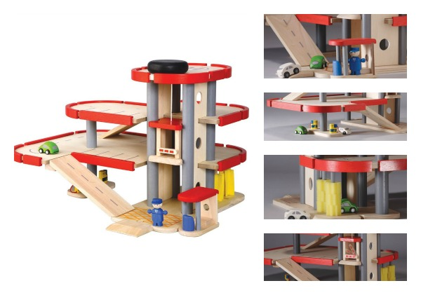 Plan toys city series parking garage | compare prices, Plan toys city ...