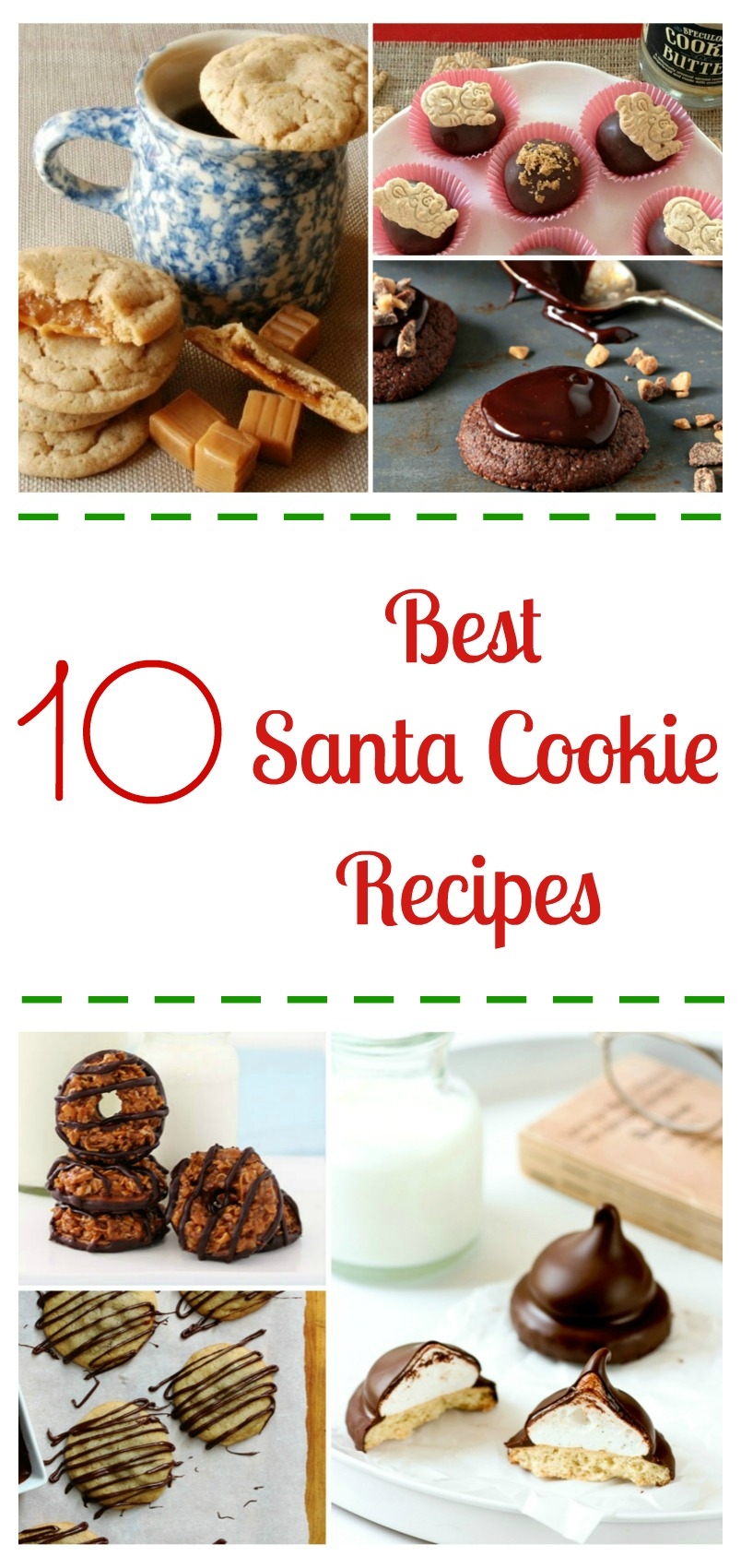 Looking for some amazing Christmas cookies? Discover what we think are the 10 Best Santa Cookie Recipes right here at Budget Earth!