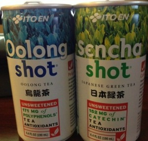 ITO EN's Sencha & Oolong Tea Shots Review