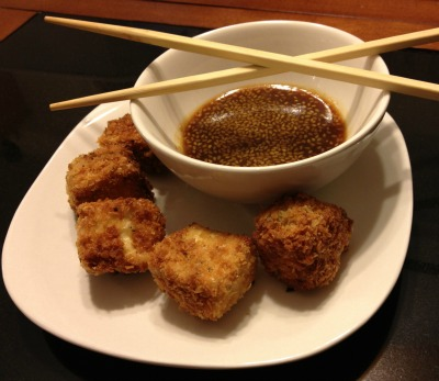 Fried Coconut Flavored Tofu Recipe