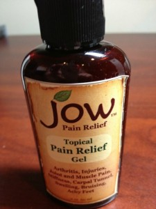 JOW Topical Pain Relief Gel Review