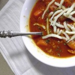 Vegetarian Hamburger Soup Recipe Featured