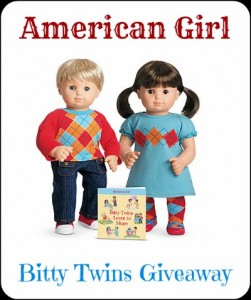 American Girl Bitty Twins Spring Giveaway