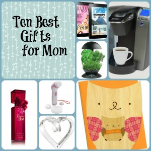 Ten Best Gifts for Mom & Kitchenaid Mother's Day Giveaway