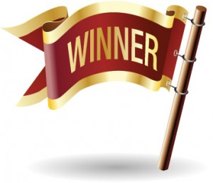 2013 Giveaway Winners  (April 1 – June 31)