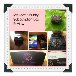 My Cotton Bunny Review: The Peace of Mind Subscription Box