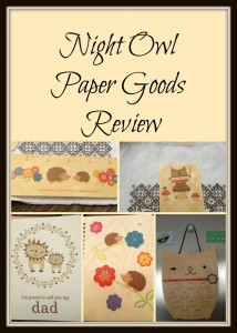 Night Owl Paper Goods Review