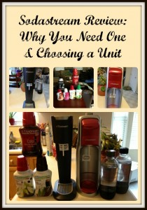 Sodastream Review: Why You Need One & Choosing a Unit
