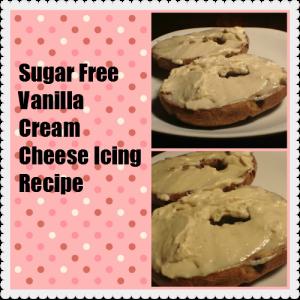 Sugar Free Vanilla Cream Cheese Icing Recipe