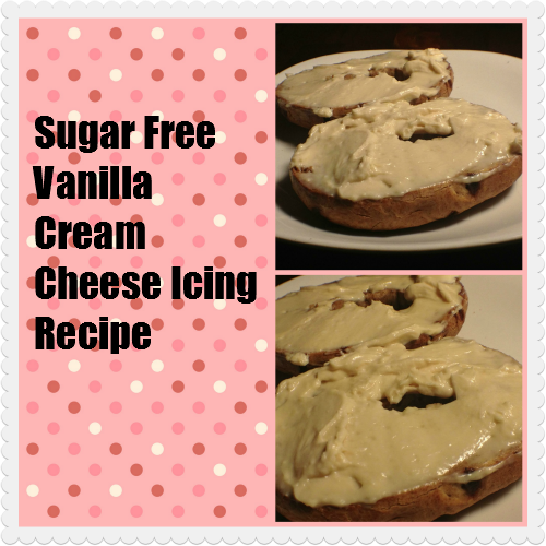 Sugar Free Vanilla Cream Cheese Icing Recipe