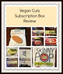 Vegan Cuts Subscription Box Review