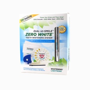 Dial A Smile: Zero White Teeth Whitening System Review