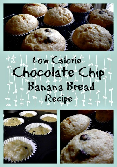 Low Calorie Banana Bread Recipe