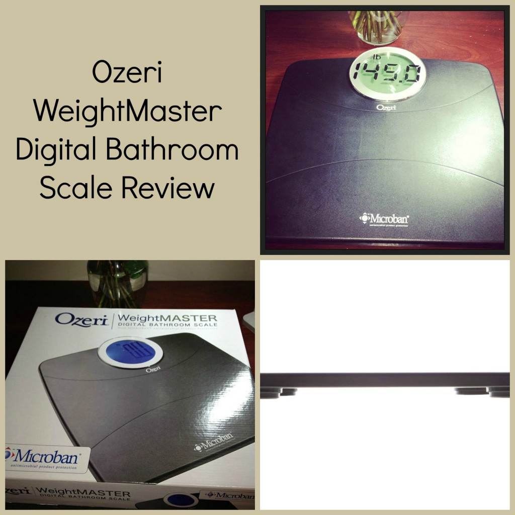 Ozeri Digital Kitchen Scale Review: Ozeri WeightMaster Digital Bathroom Scale Review