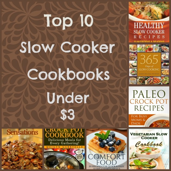 Top 10 Slow Cooker Cookbooks Under $3