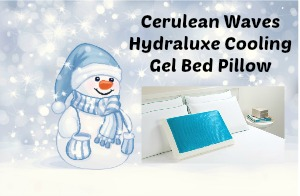 Cerulean Waves Hydraluxe Cooling Gel Bed Pillow