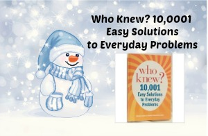 Who Knew 10,000 Easy Solutions