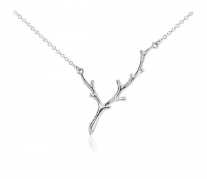 Blue Nile Branch Necklace Giveaway