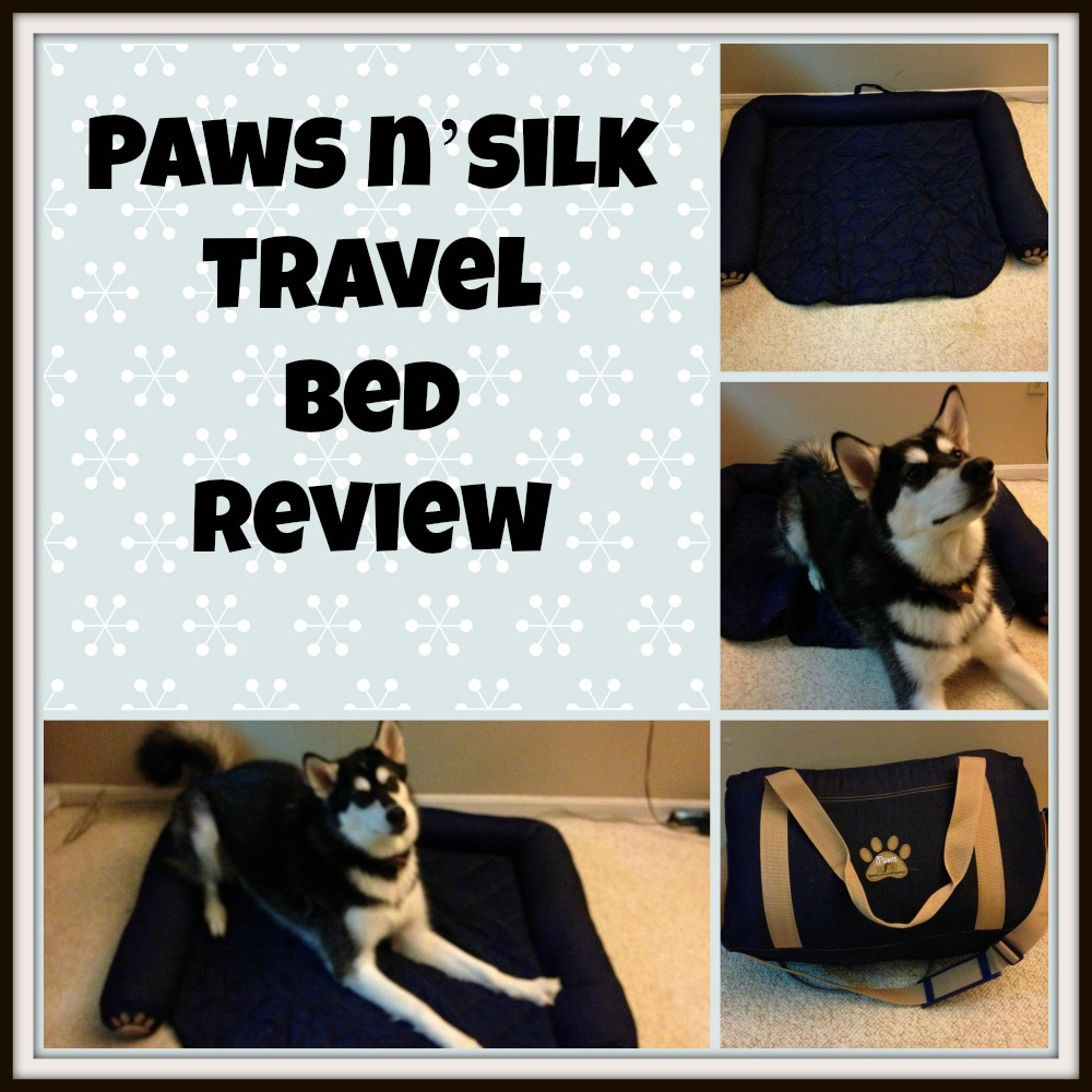 Paws n'Silk Travel Bed Review