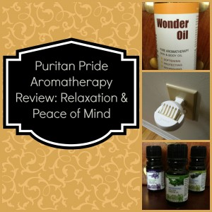 Puritan's Pride Aromatherapy Review: Relaxation & Peace of Mind