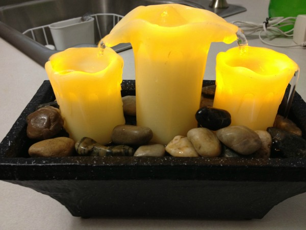 Sarah Peyton Home 3 Candle LED Fountain 1