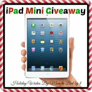 Holiday Wishes iPad Mini Giveaway