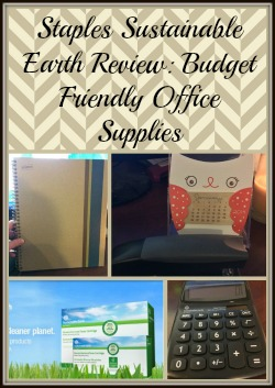 Staples Sustainable Earth Review Budget Friendly Office Supplies