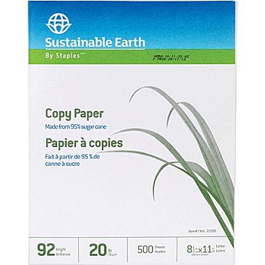 ecofriendly paper