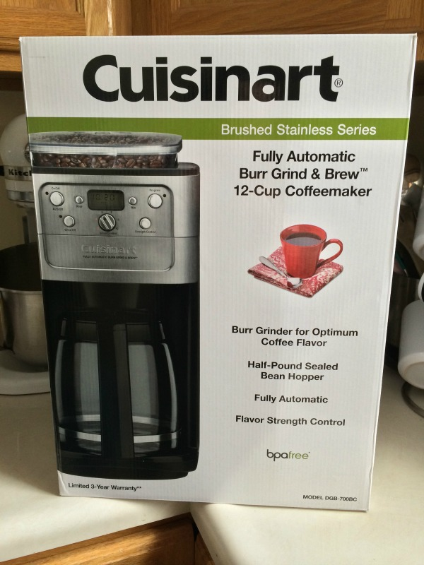 Cuisinart Coffee Pot 2