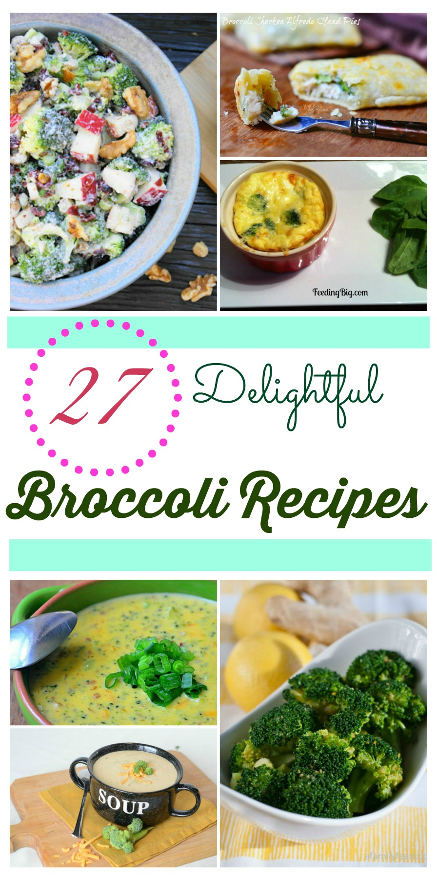 Looking for some new broccoli recipes? Check out our 26 Delightful Broccoli Recipes round up here!