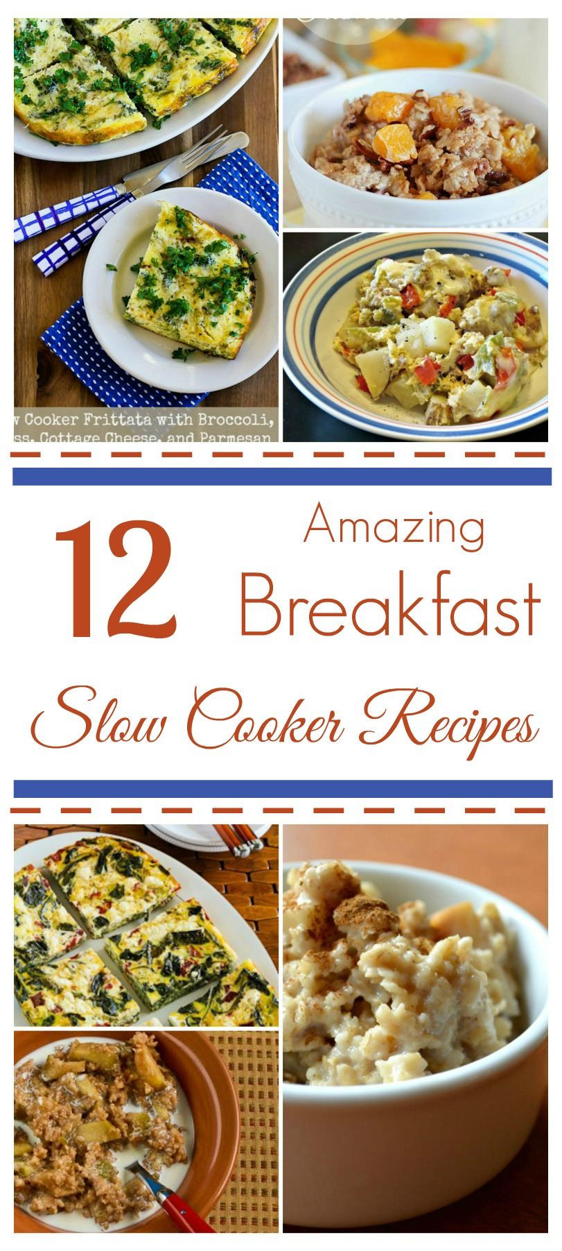 Looking for some new recipes for your crockpot? Check out this amazing breakfast slow cooker round up here!
