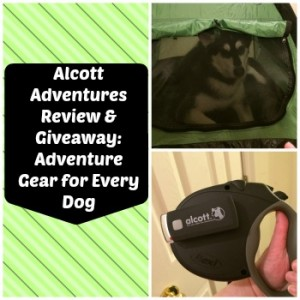 Alcott Adventures Review & Giveaway: Adventure Gear for Every Dog