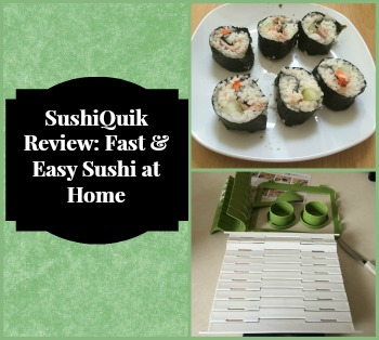 SushiQuik Review: Fast & Easy Sushi at Home