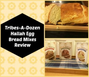 Tribes-A-Dozen Hallah Egg Bread Mixes Review & Giveaway