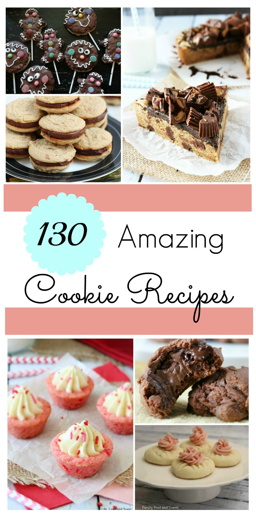 Looking for the perfect cookie recipe? Check out our list of 130 Amazing Cookie recipes (including pictures) here!