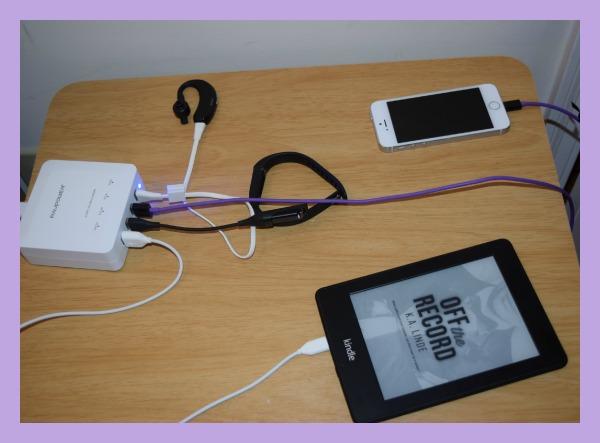 RAVPower BOLT 30W/6A 4-Port USB Charging Station