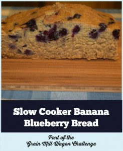 Slow Cooker Banana Blueberry Bread Recipe