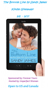 The Bottom Line by Sandy James Plus Kindle Giveaway