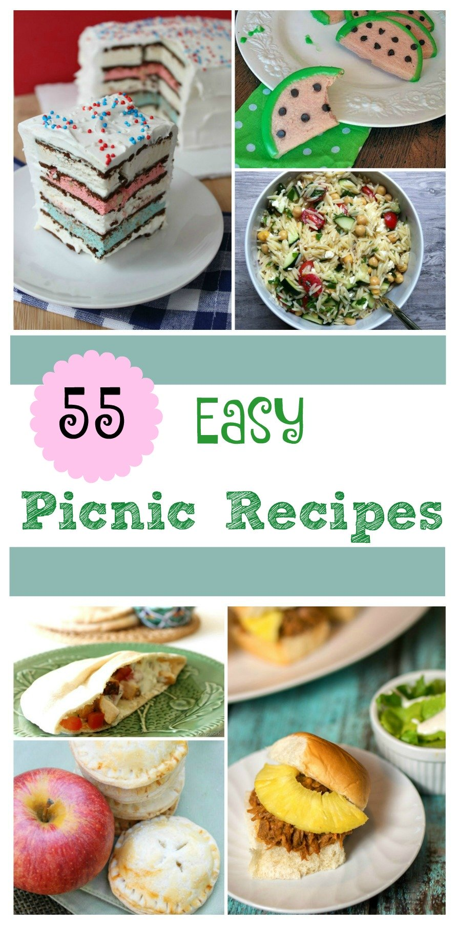 Looking for some easy picnic food for your next family gathering? Check out our 55 Easy Picnic Food Round Up here!