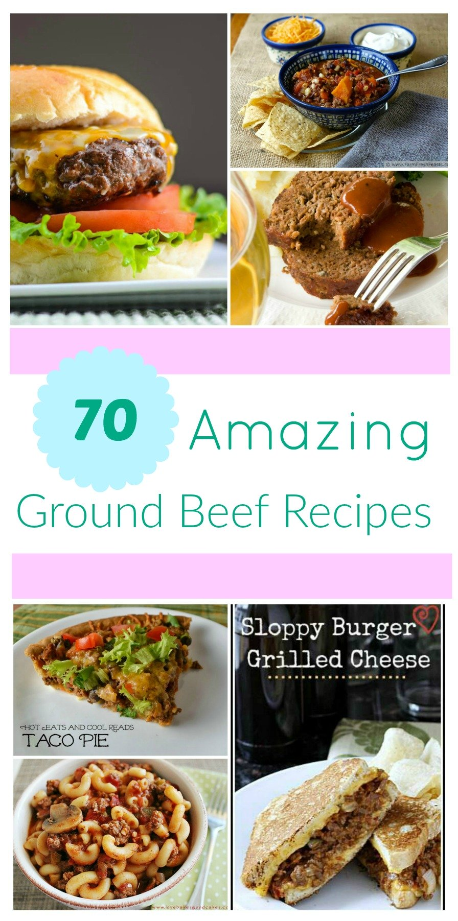 Looking for some quick ground beef recipes? Check out our Beef Ground Roundup, featuring 70 ground beef recipes, here!