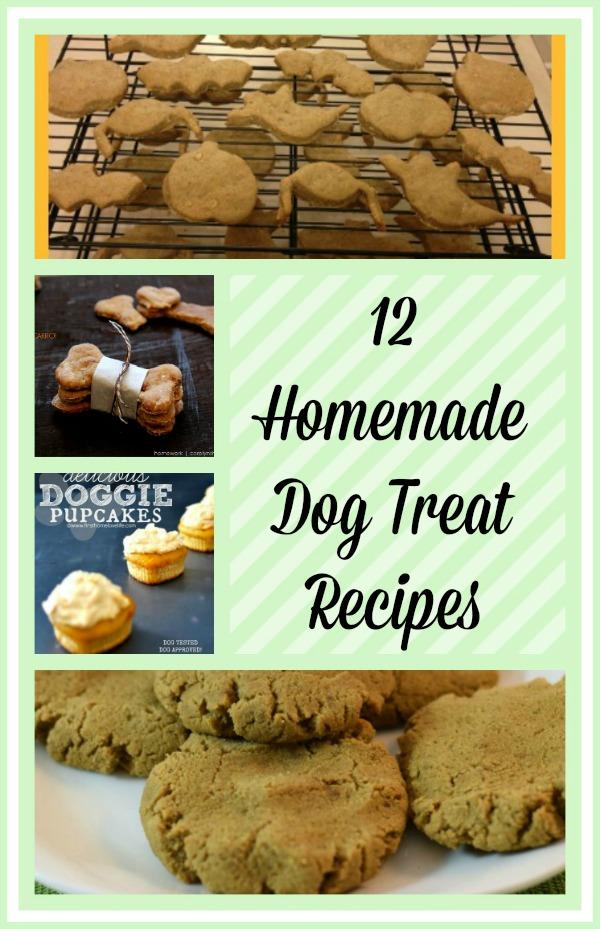 12 Homemade Dog Treat Recipes
